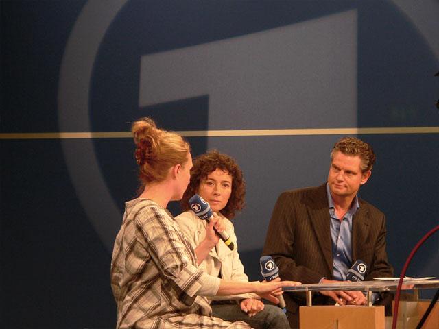 Interview auf der ARD-Bühne - IFA 2009