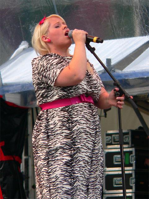 Maite Kelly auf der IFA 2009