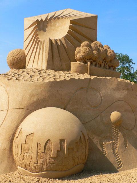 Sandsation 2009 - Städte der Zukunft