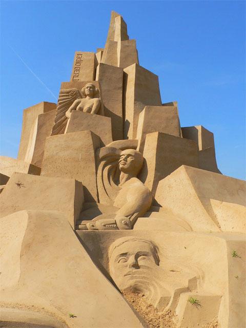 Sandsation 2009 - Stadt der Zukunft