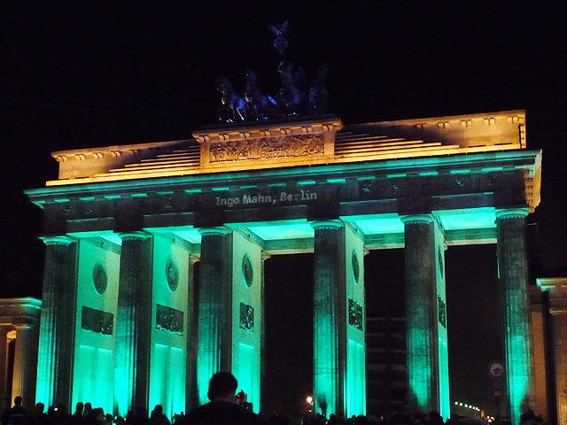 Festival of Lights 2009 - Brandenburger Tor