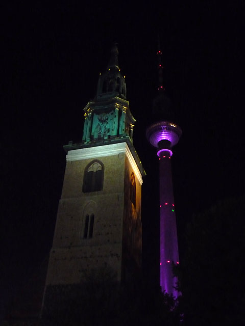 Festival of Lights 2009 - Fernsehturm