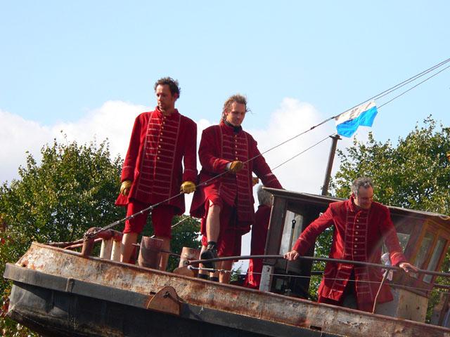 Teil der französischen Truppe Royal de Luxe