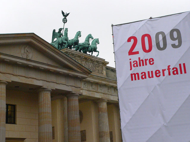 20 Jahre Mauerfall - Brandenburger Tor