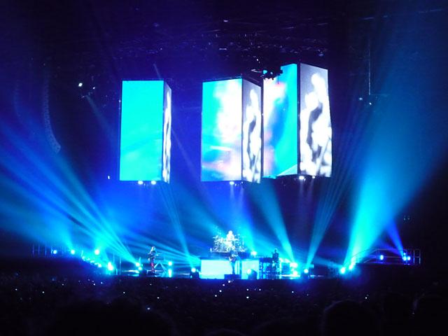 Konzert der Rockband Muse in Berlin