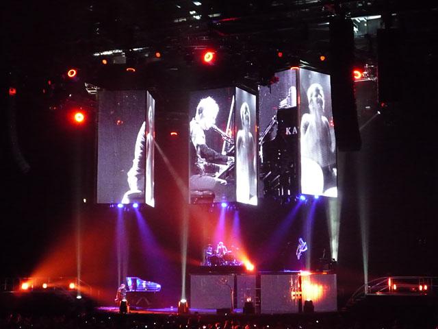 Konzert der britischen Rockband Muse in Berlin