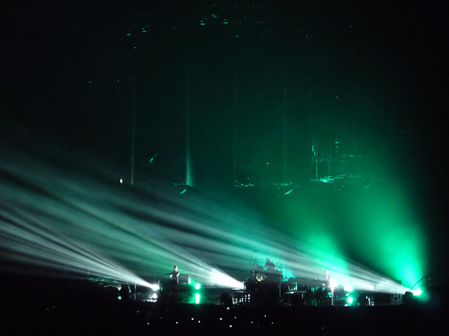Konzert der Rockband Muse in der O2 World Berlin