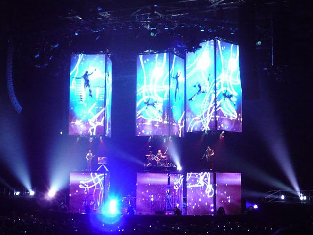 Konzert der britischen Rockband Muse in der Berliner O2 World