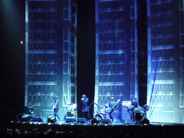 The Horrors als Vorband von Muse