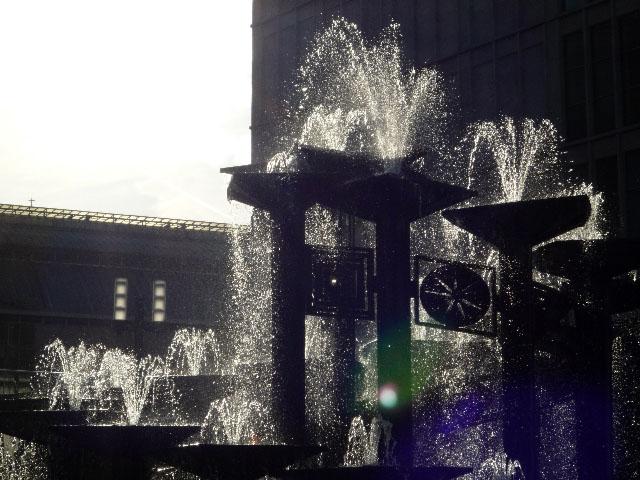 Brunnen der Völkerfreundschaft am Alexanderplatz