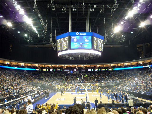 Alba Berlin in der O2 World
