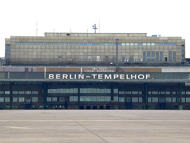 Abfertigungsanlage Flughafen Tempelhof