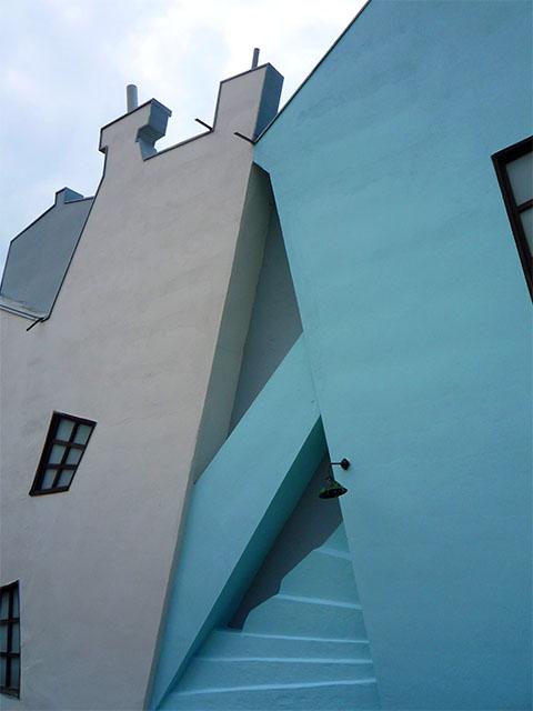 Filmpark Babelsberg - Hausfassade