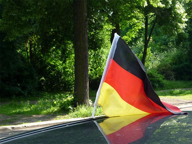 Deutschlandfahne - Fussball WM 2010