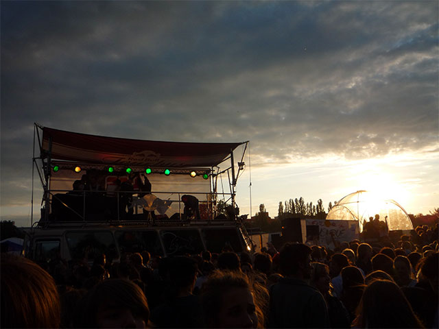 Fête de la Musique - Red Bull Tourbus