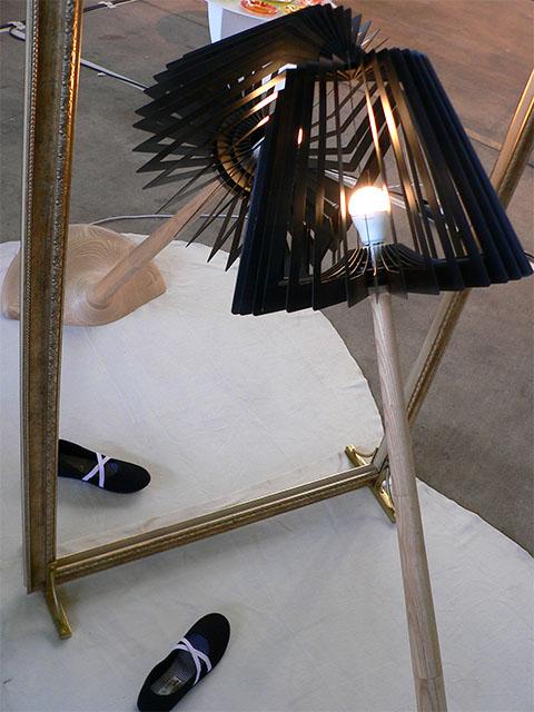 gespiegelte Lampe - DMY