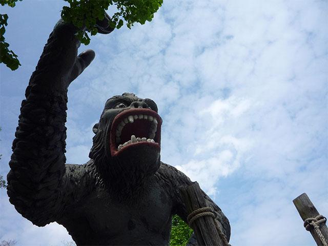 King Kong im Filmpark Babelsberg
