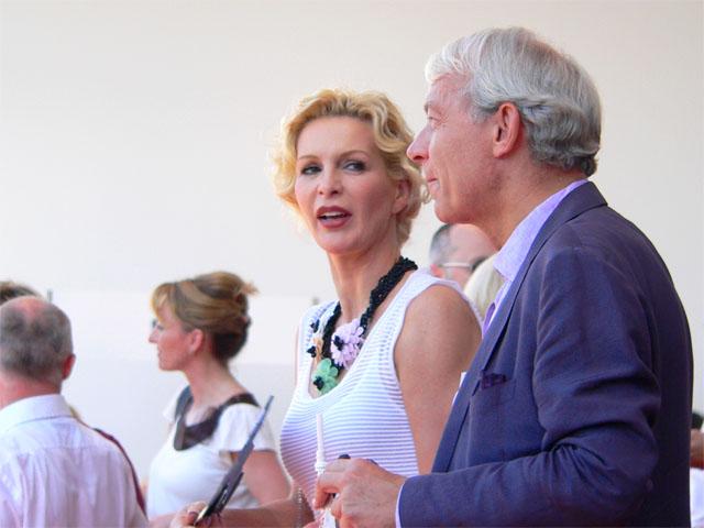 Grit Weiss und Jo Groebel - Fashion Week Berlin