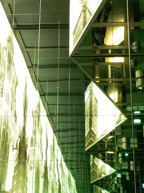 Metropolis - Spiegelsaal im Filmmuseum Berlin