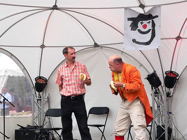 Clown beim Berliner Gauklerfest