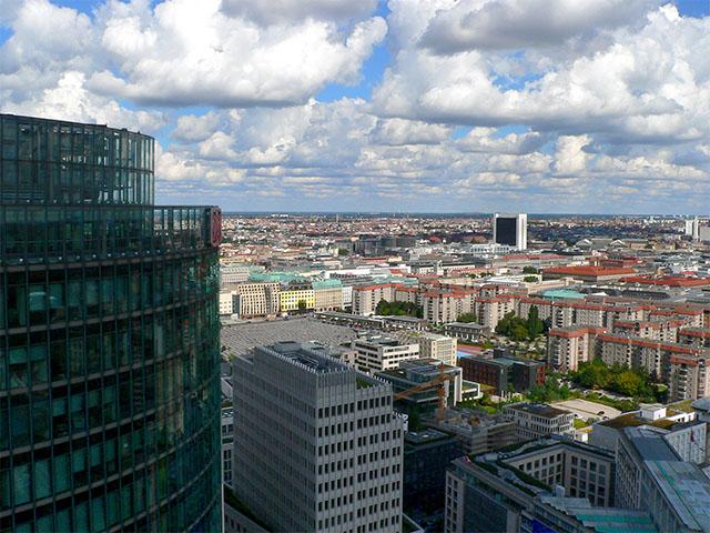 Kollhoff-Tower Aussicht