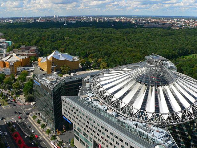 Sony-Center - Potsdamer Platz