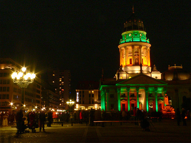 Gendarmenmarkt beim Festival of Lights 2010