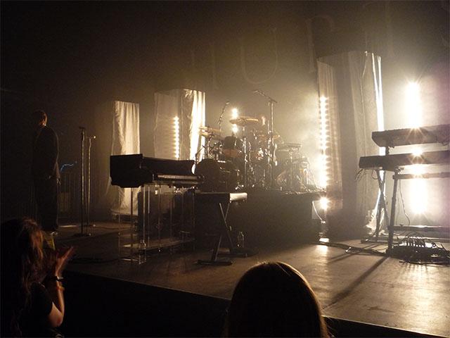 HURTS Konzert-Bühne