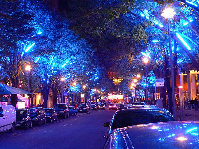 Potsdamer Platz-Arkaden - Festival of Lights 2010