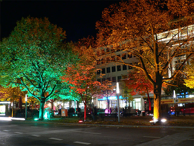 Festival of Lights Unter den Linden