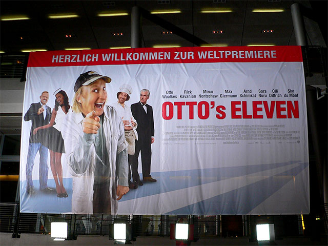 """""""Otto's Eleven""""-Filmpremiere in Berlin"""