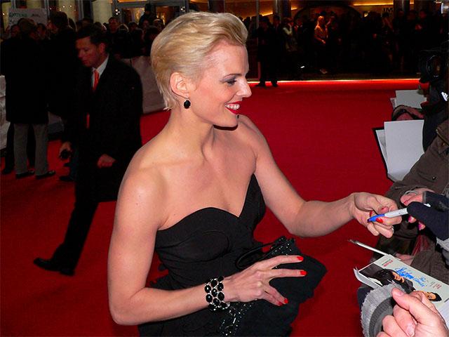 """Stephanie Berger bei der Filmpremiere von """"Otto's Eleven"""""""