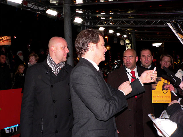 "Colin Firth - ""The King's Speech""-Filmpremiere"