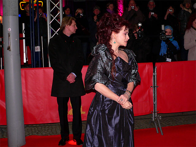 "Helena Bonham Carter - Premiere ""The King's Speech"""