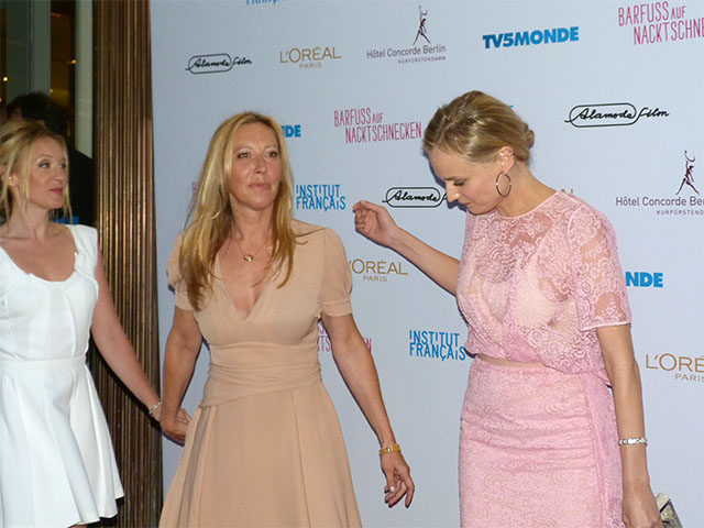 """Diane Kruger, Fabienne Berthaud & Ludivine Sagnier - """"Barfuss auf Nacktschnecken"""""""