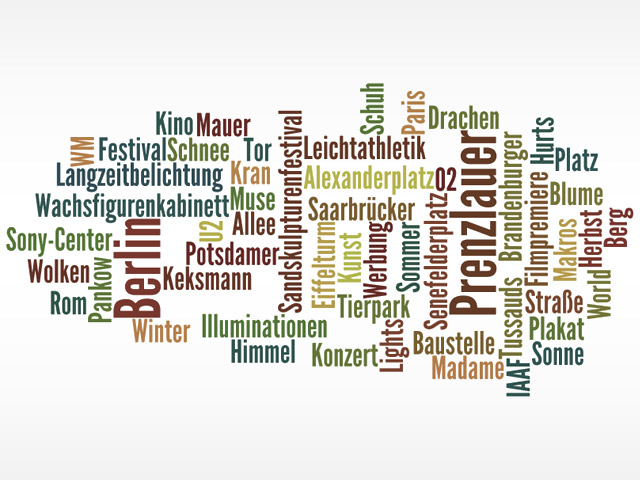 Tag-Clouds mal anders mit Wordle.net