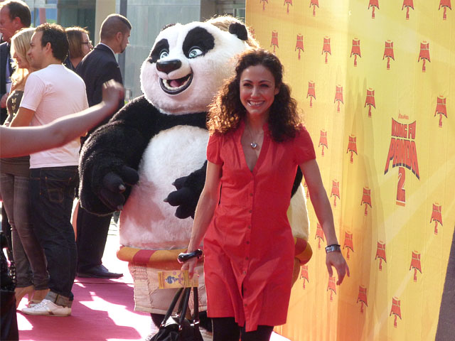 """Anastasia Zampounidis - Filmpremiere """"Kung Fu Panda 2"""""""