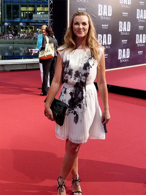 """Annika Kipp bei der Premiere von """"Bad Teacher"""""""