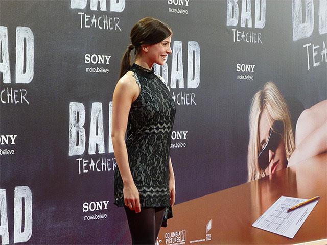 """Aylin Tezel - Premiere """"Bad Teacher"""" in Berlin"""