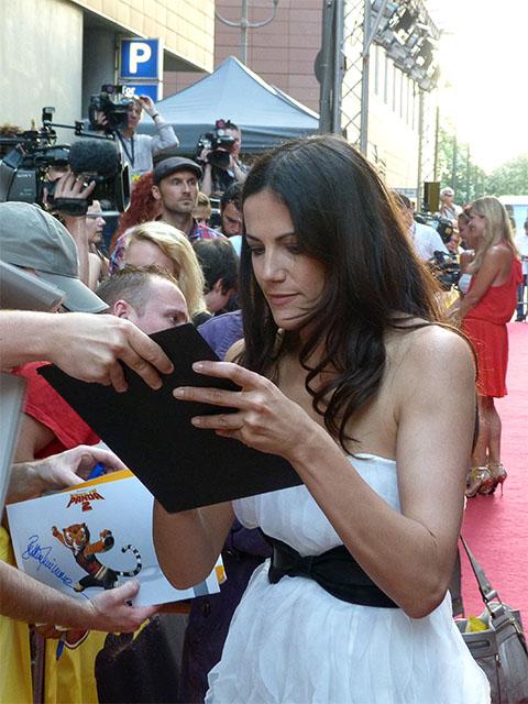 "Bettina Zimmermann - Premiere ""Kung Fu Panda 2"" in Berlin"