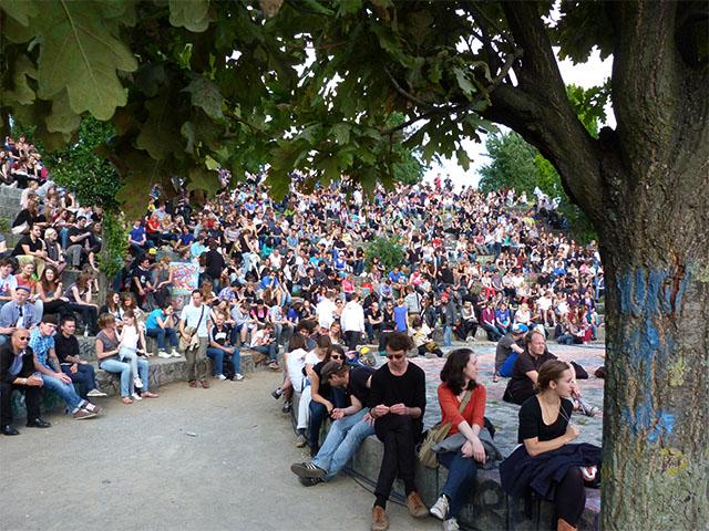 Fête de la Musique 2011 im Mauerpark