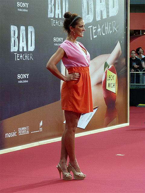 "Kerstin Linnartz - Filmpremiere ""Bad Teacher"" in Berlin"