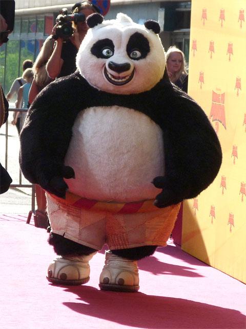 "Kung Fu Panda Po - Filmpremiere ""Kung Fu Panda 2"""