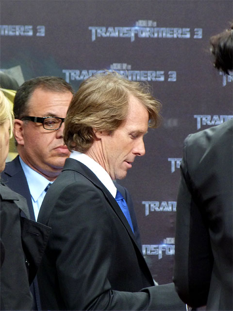 "Michael Bay - ""Transformers 3""-Premiere auf dem Potsdamer Platz"