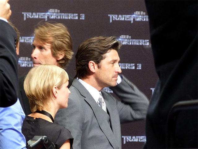 """Patrick Dempsey zur Europapremiere von """"Transformers 3"""""""