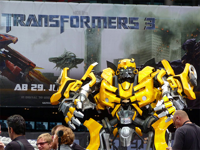 """Transformers 3""-Filmpremiere in Berlin - Bumblebee"