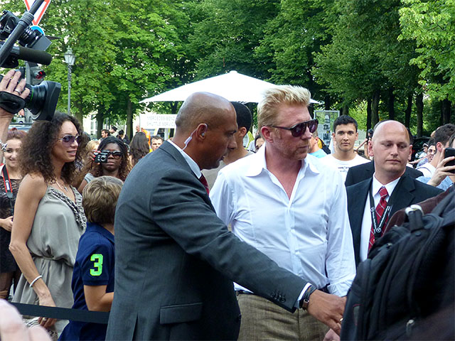 Boris Becker - Mercedes Benz Fashion Week 2012