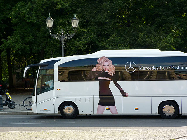 Fashion Week Berlin 2012 - Bus