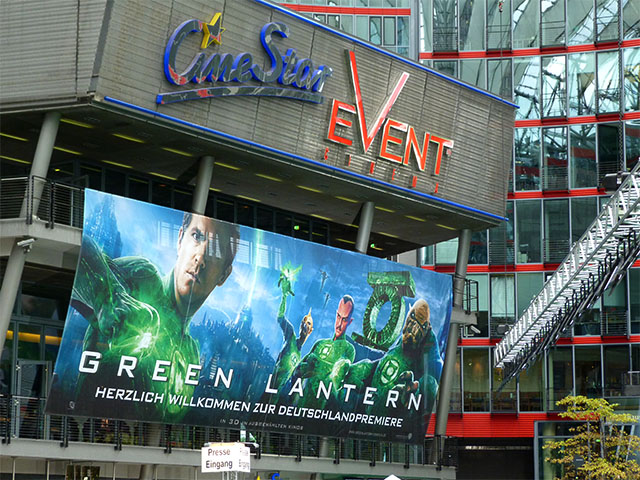 """Green Lantern"" - Deutschlandpremiere in Berlin"