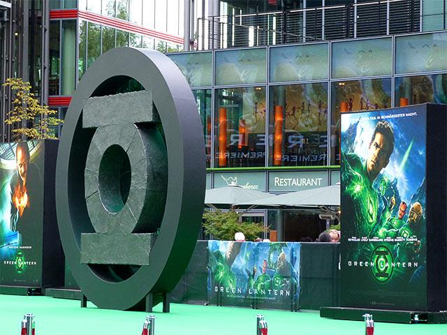 """""""Green Lantern""""-Premiere auf dem Potsdamer Platz"""